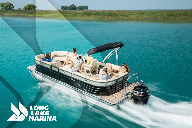 Crest Pontoon Boats Crest II Select 250