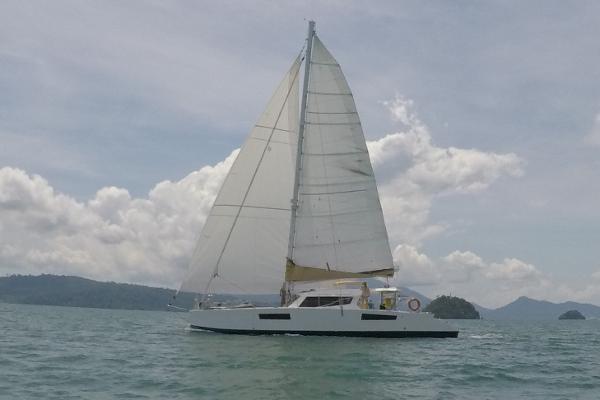 Catathai Sail Catamaran 50 Profile