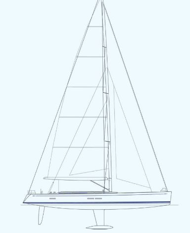 Manufacturer Provided Image: Nautor Swan 80 Sail Plan