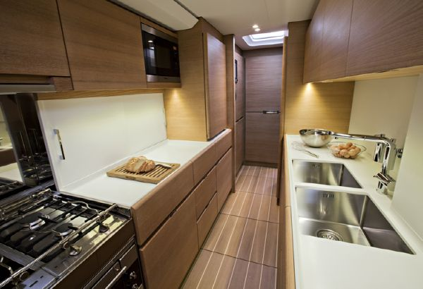 Manufacturer Provided Image: Nautor Swan 80 Galley