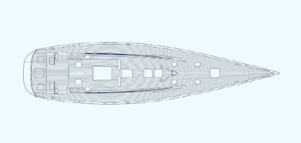 Manufacturer Provided Image: Nautor Swan 80 Deck Plan