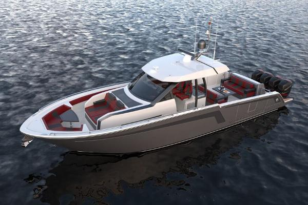 Ocean Alexander 45 Divergence Fishing Configuration