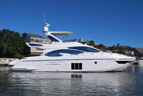 Azimut 54 Flybridge Azimut 54 Flybridge Side View