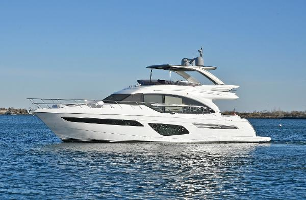Princess 62 Flybridge Port Side
