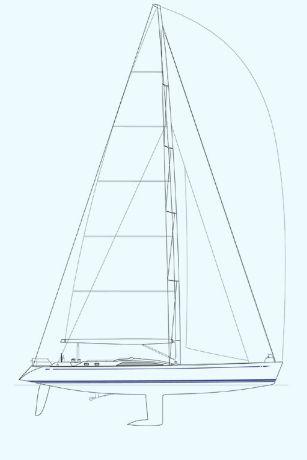Nautor Swan 82 Sail Plan