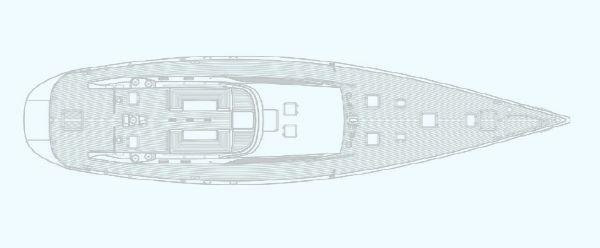 Nautor Swan 82 Deck Plan