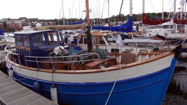 Custom John Watt & Sons Motor Sailor