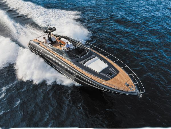 Riva 63' Virtus Manufacturer Provided Image: Riva 63' Virtus Aerial View