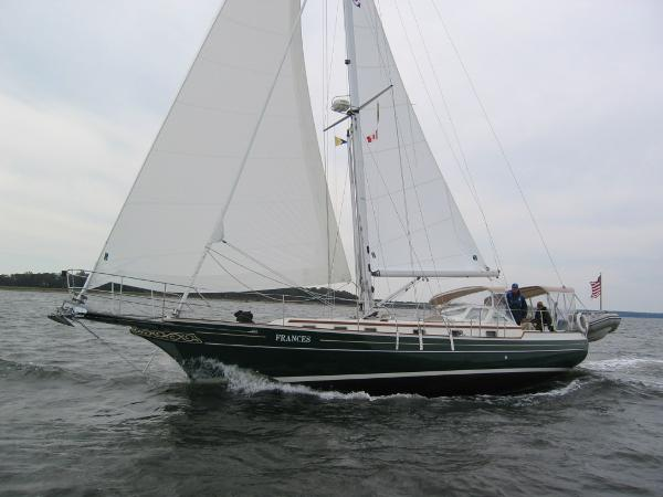Gozzard 41 Cutter On The Wind; A Powerful Sailer