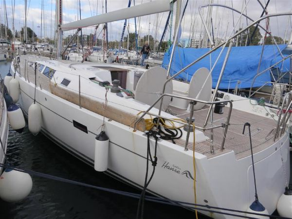Hanse 540e Hanse 540e - Luxury Sailing Yacht