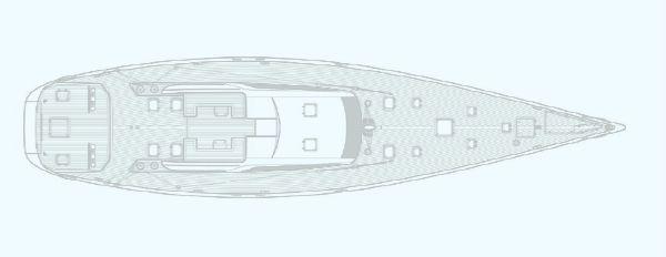 Nautor Swan 90 S Deck Plan