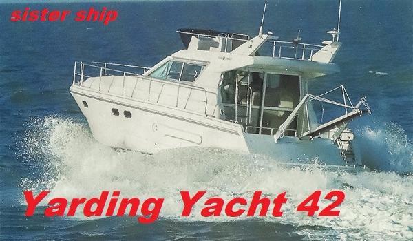 Janneau/Ferretti Yarding Yacht 42