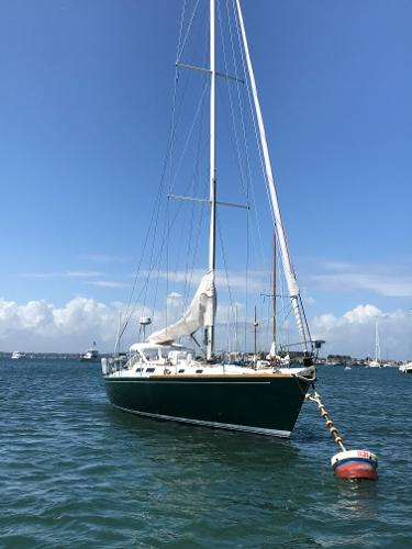 J Boats J/44 Starboard bow view
