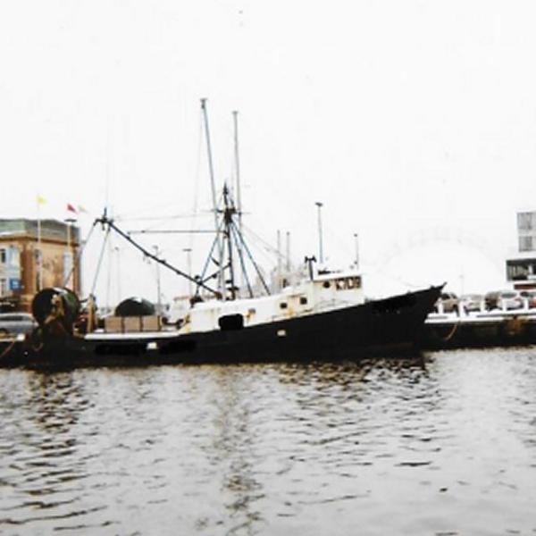 87' x 21' Steel Fishing Trawler /Ex Shrimp Trawler
