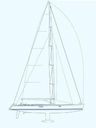 Nautor Swan 100 FD Sail Plan