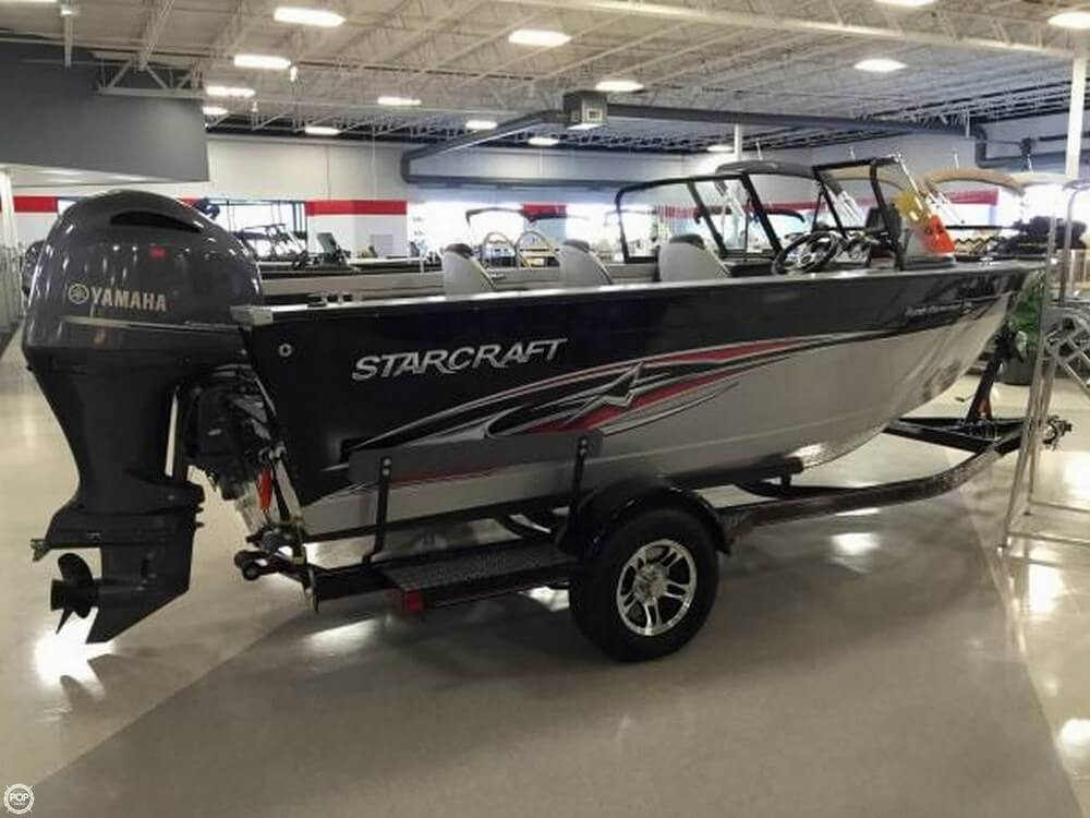 Used starcraft aluminum fish boats for sale for Used aluminum fishing boats for sale in michigan