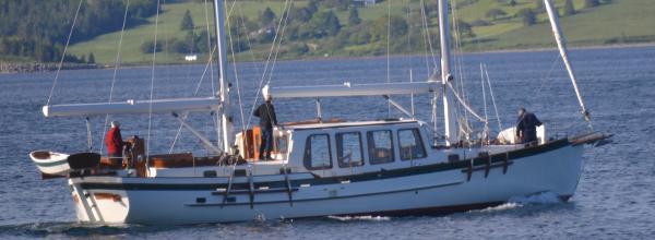 Covey Island Herreshoff Ketch