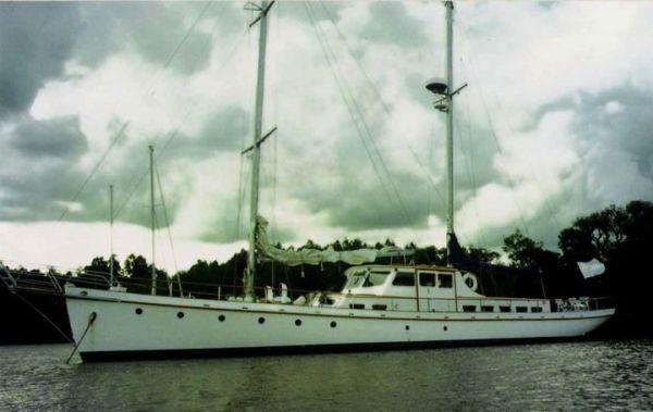 At Anchor at Uruguay