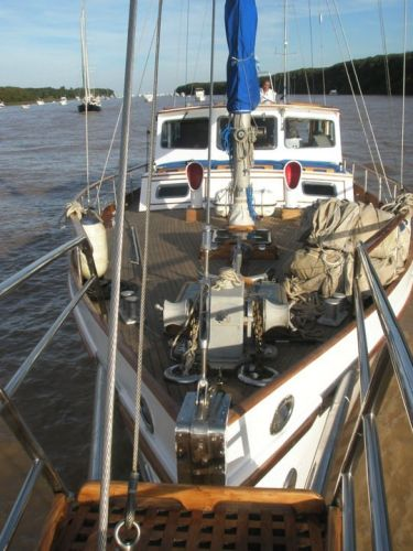 Forward Deck From Bowsprit
