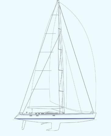 Nautor Swan 100 S Sail Plan