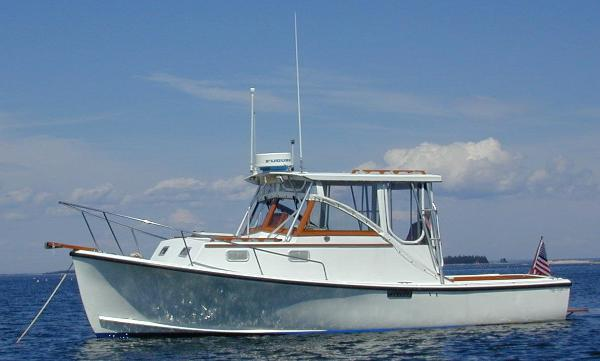 Tripp Angler Hardtop Cruiser At Anchor