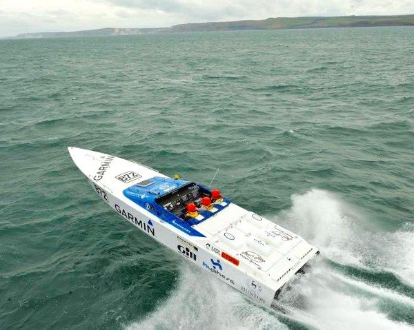 Hunton Gazelle 40 Racing Powerboat  Hunton Gazelle 40 Racing Powerboat