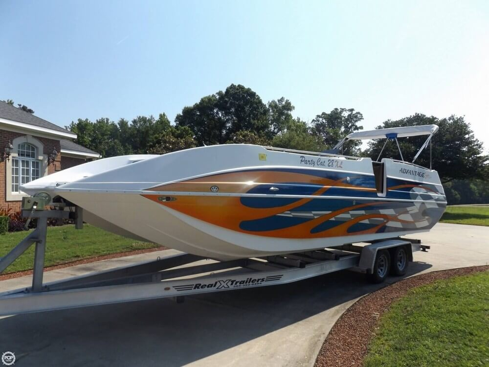 Advantage Boats Party Cat 28 XL 2005 Advantage Party Cat 28 XL for sale in Greenwood, SC