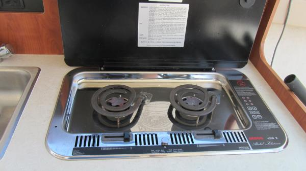 Electric/alcohol stove