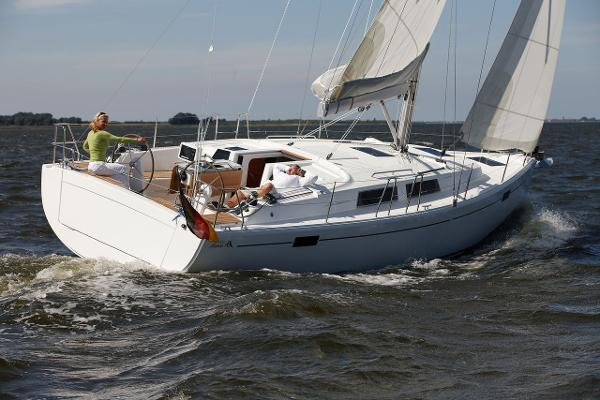 Hanse 385 Stock Photo - Sailing