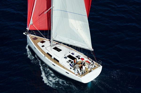 Hanse 415 View From Above