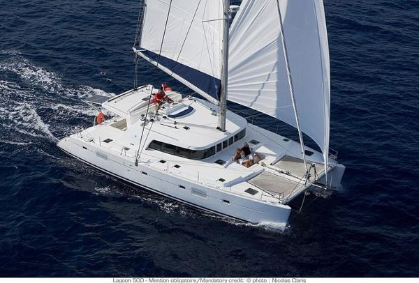 Lagoon 500 Charter version 5 cabins