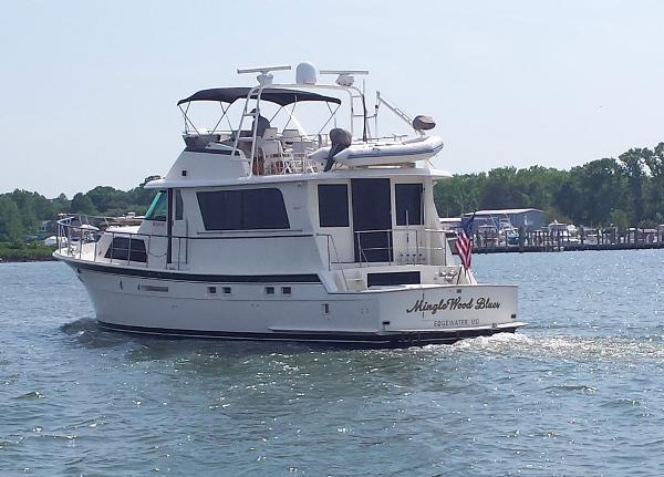 Hatteras Motor Yacht 58 Hatteras 58
