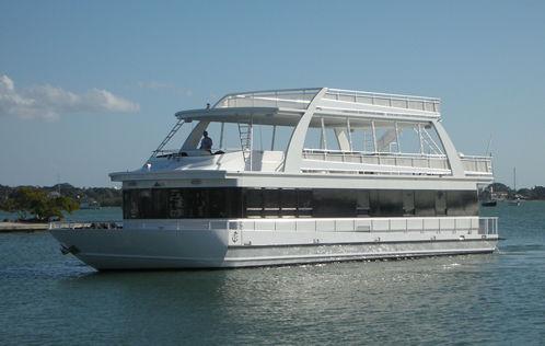 "Fantasy Houseboat Coastal 85' X 22' ""Diesel"" Main Image"