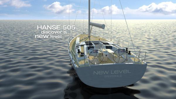 Hanse 505 Stern