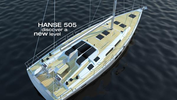 Hanse 505 Deck