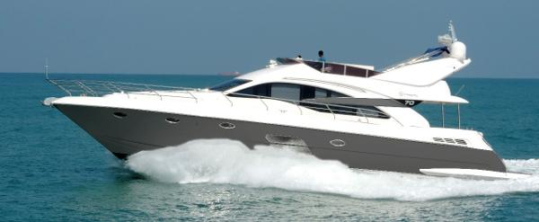 Riviera Integrity 70 Hull #1