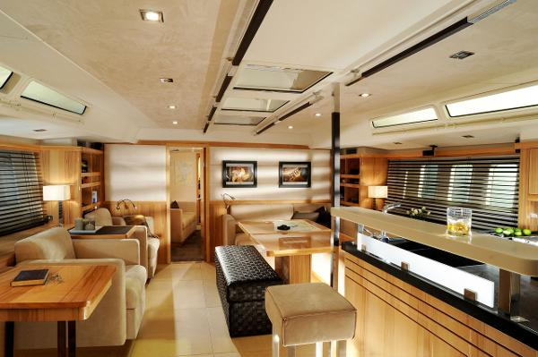 Hanse 630e Interior