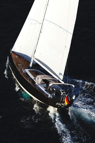 Hanse 630e View From Above