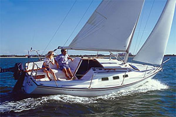 Precision 23 Sailing