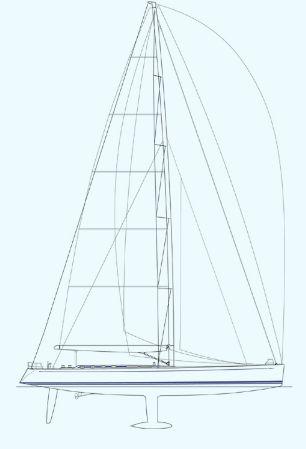 Nautor Swan 90 FD Sail Plan
