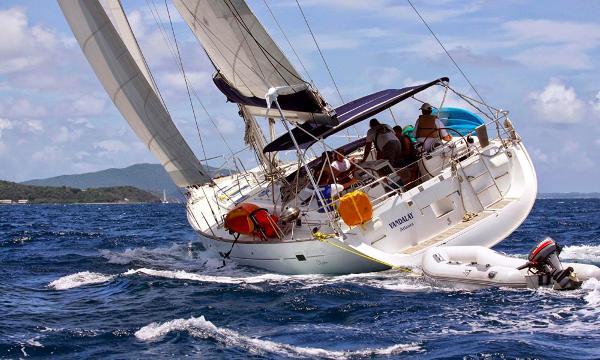 "Beneteau Oceanis 523 ""Vandalay"" showing a good time"