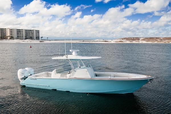 Valhalla Boatworks V-33 2020 V33 Valhalla Boatworks Starboard Profile