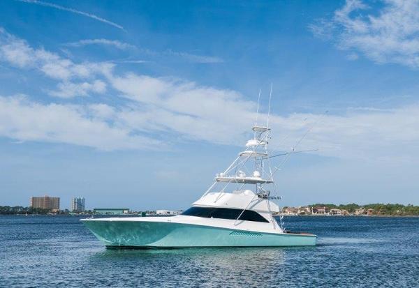Viking 56 Convertible Port Profile