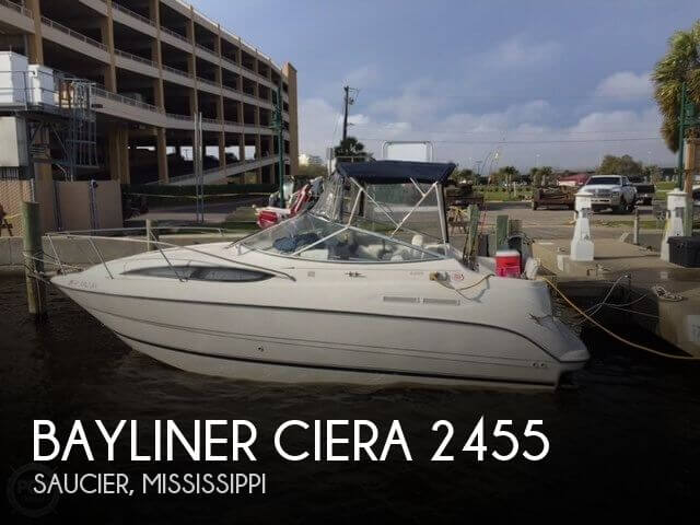 Bayliner Ciera 2455 Sunbridge 2002 Bayliner Ciera 2455 Sunbridge for sale in Saucier, MS