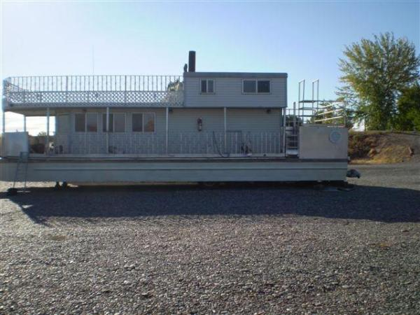 Custom Pontoon Houseboat Pontoon Profile