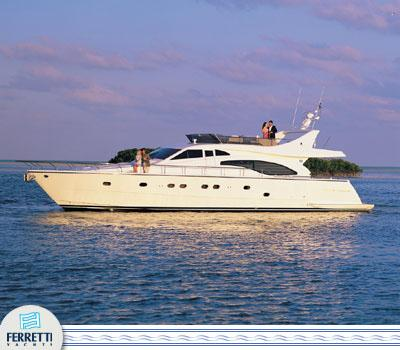 Ferretti Yachts 680 Manufacturer Provided Image: 680