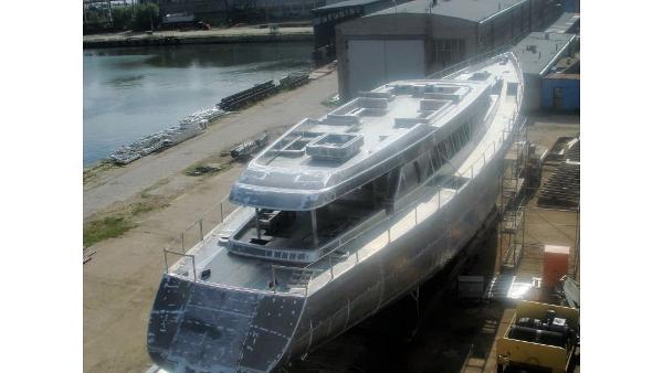 Aluminium Hull Motorsailer
