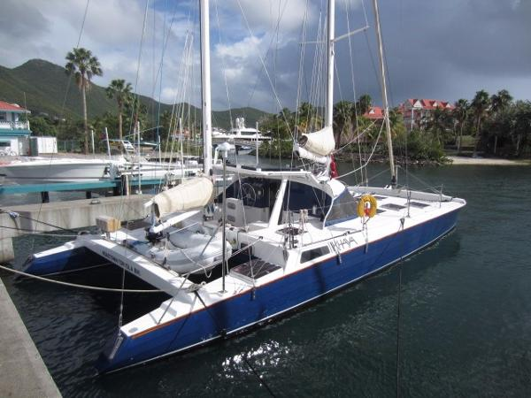 Spronk 50 ketch rigged catamaran