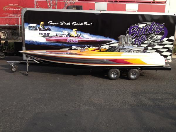 Hallett Boats Barron Sprint