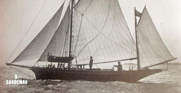 J A Allen Vintage Gaff Yawl 1890 Project Completion